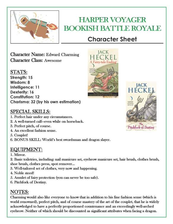 Bookish Battle Royale Character Sheet (1)